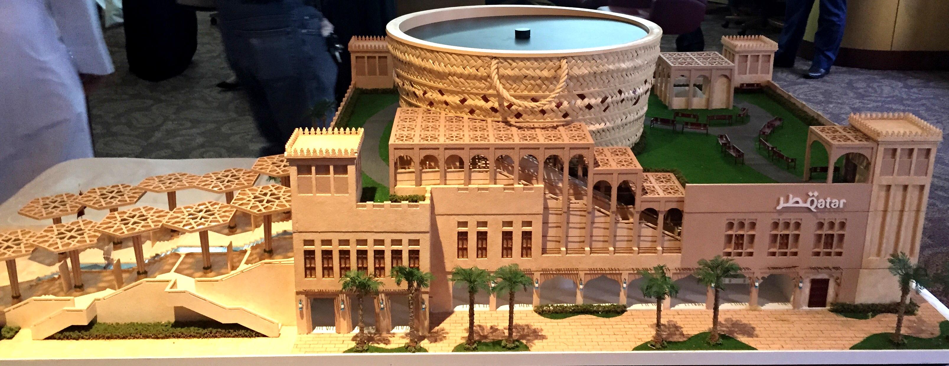 Expo Stand Egitto : Expo il comitato del padiglione qatar e katara