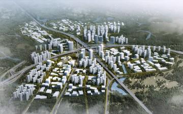 Progetto CMR disegna la Città del Futuro a Shenzhen, in Cina