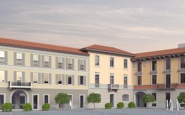 """Un Progetto di riqualificazione urbana a Busto Arsizio: la """"Residenza del Conte"""""""