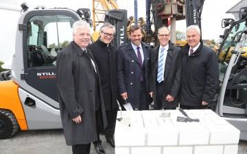 STILL ed ECE posano la prima pietra per un nuovo centro logistico ad Amburgo