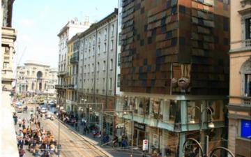 Hines acquisisce il  flagship Geox  in via Torino,  nel cuore di  Milano