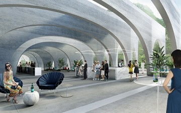 Gli architetti  di  BIG  vincono la  competizione  internazionale  per ridisegnare la  flagship factory di San Pellegrino
