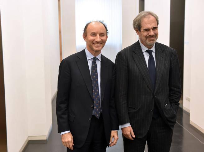 Nella  foto, Fabio Gallia  (  a sinistra )  e  Claudio Costamagna