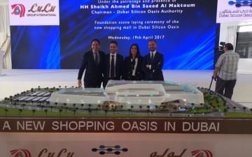 """Dubai, oggi la  """"Ground-breaking Ceremony""""  dell' ultimo progetto di  Desing  International"""