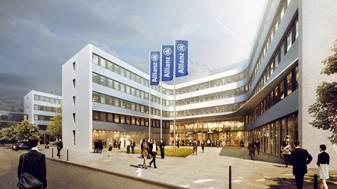 """Hines acquisisce l' """" Allianz Campus"""" a  Berlino per un  Fondo coreano. Venditore è  CORPUS SIREO"""