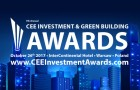 """""""CEE Investment and Green Building Awards""""  di  EuropaProperty  in palio  il 26  ottobre   a  Varsavia"""