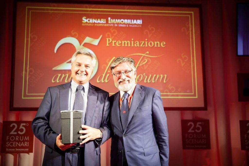 Nell' immagine :   Aldo Mazzocco (  a  sinistra)  e  Mario Breglia