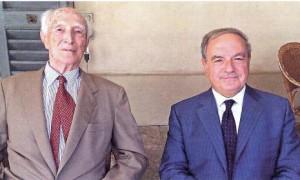 Gaetano Barbiano di Belgojoso e Achille Colombo Clerici