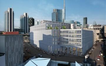 """Colliers International Italia presenta gli edifici  """"Garibaldi Executive"""" nel cuore del  financial district di Milano"""