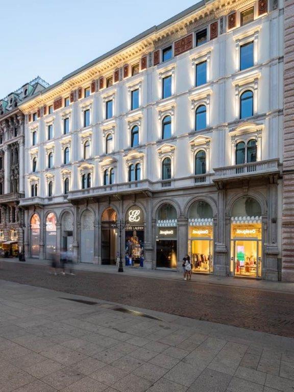 La  facciata  di  via  Dante  7 (  courtesy di Paolo Caputo)